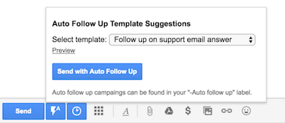Send Individual Emails with Auto Follow Up